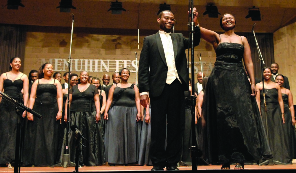 Gauteng Choristers touring with MIAGI