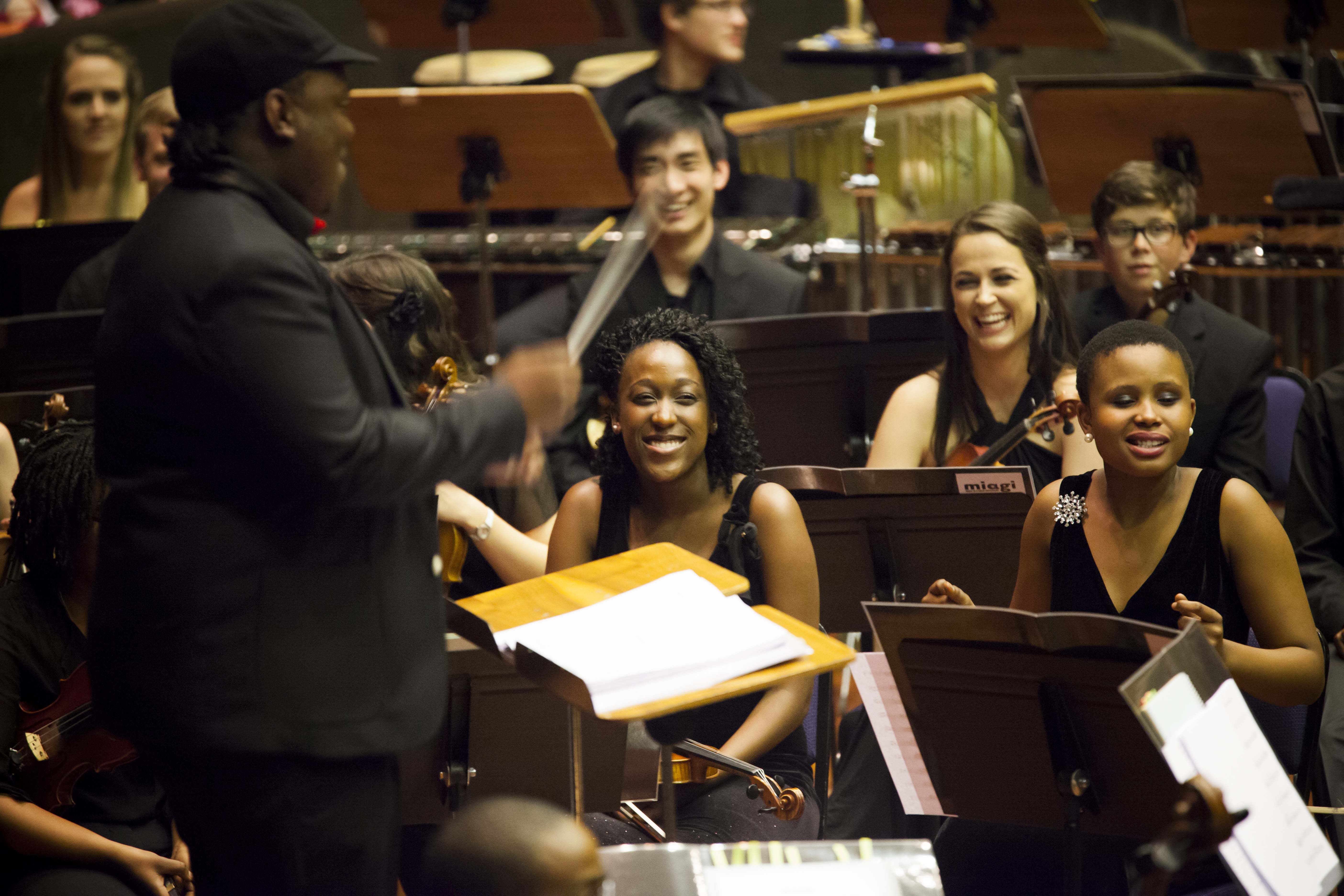MIAGI Youth Orchestra in the Linder 2014