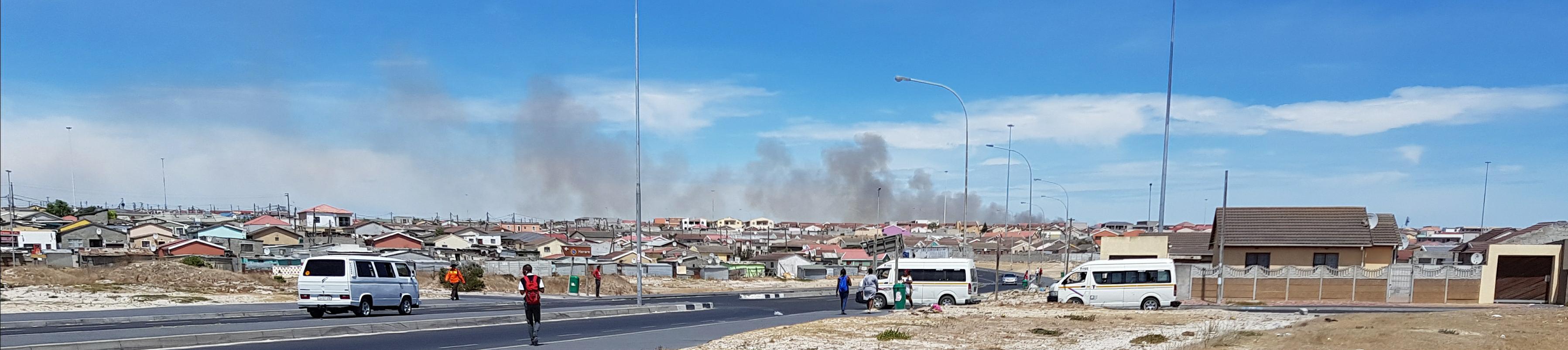 Our leased land slot in Khayelitsha